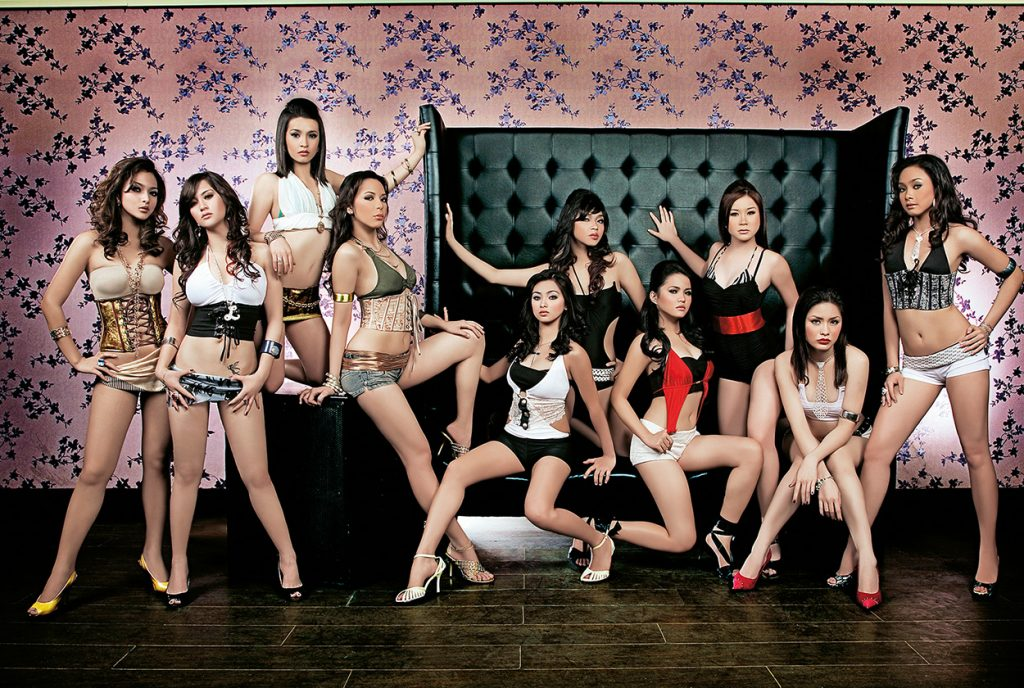 EB Babes, FHM Magazine 2007